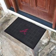 Atlanta Braves Vinyl Door Mat