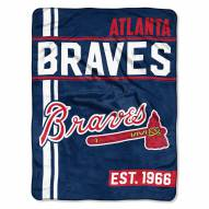 Atlanta Braves Walk Off Throw Blanket