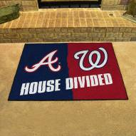 Atlanta Braves/Washington Nationals House Divided Mat