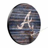 Atlanta Braves Weathered Design Hook & Ring Game