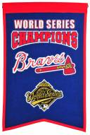 Atlanta Braves Champs Banner