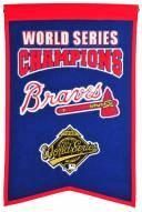 Atlanta Braves Champs Banner