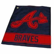 Atlanta Braves Woven Golf Towel