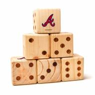 Atlanta Braves Yard Dice