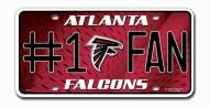 Atlanta Falcons #1 Fan License Plate