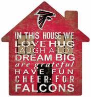 "Atlanta Falcons 12"" House Sign"