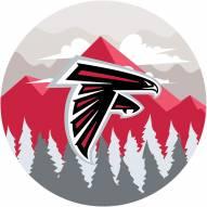 "Atlanta Falcons 12"" Landscape Circle Sign"