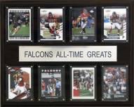 """Atlanta Falcons 12"""" x 15"""" All-Time Greats Plaque"""