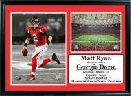 "Atlanta Falcons 12"" x 18"" Matt Ryan Photo Stat Frame"