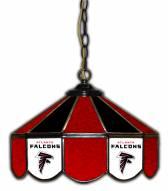 "Atlanta Falcons 14"" Glass Pub Lamp"