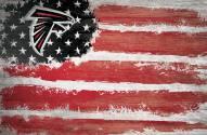 "Atlanta Falcons 17"" x 26"" Flag Sign"