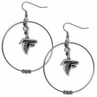 """Atlanta Falcons 2"""" Hoop Earrings"""