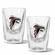Atlanta Falcons 2 oz. Prism Shot Glass Set