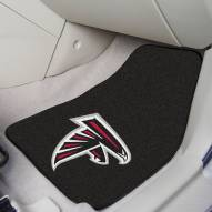 Atlanta Falcons 2-Piece Carpet Car Mats