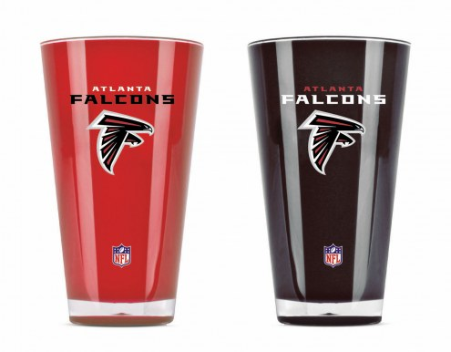 Atlanta Falcons 20 oz. Insulated Acrylic Tumbler Twin Pack