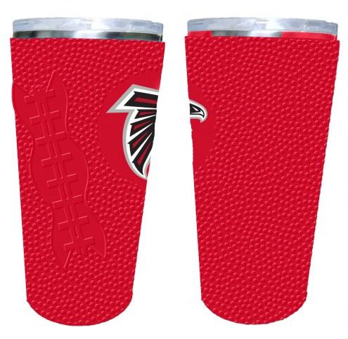 Atlanta Falcons 20 oz. Stainless Steel Tumbler with Silicone Wrap