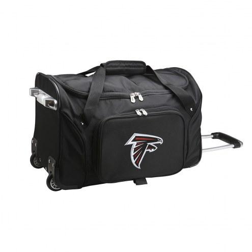 """Atlanta Falcons 22"""" Rolling Duffle Bag"""