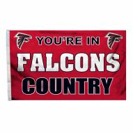 Atlanta Falcons 3' x 5' Country Flag