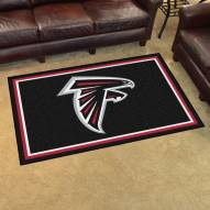 Atlanta Falcons 4' x 6' Area Rug