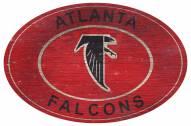"Atlanta Falcons 46"" Heritage Logo Oval Sign"