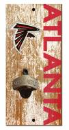 "Atlanta Falcons 6"" x 12"" Distressed Bottle Opener"