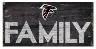 """Atlanta Falcons 6"""" x 12"""" Family Sign"""