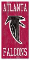 "Atlanta Falcons 6"" x 12"" Heritage Logo Sign"