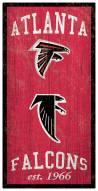 "Atlanta Falcons 6"" x 12"" Heritage Sign"