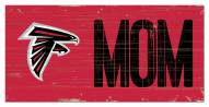 "Atlanta Falcons 6"" x 12"" Mom Sign"