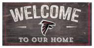"Atlanta Falcons 6"" x 12"" Welcome Sign"