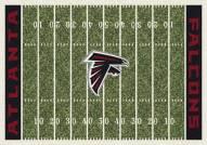 Atlanta Falcons 6' x 8' NFL Home Field Area Rug