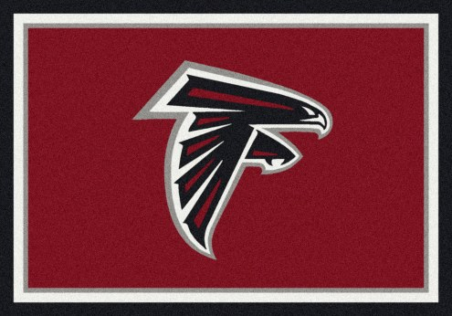 Atlanta Falcons 6' x 8' NFL Team Spirit Area Rug
