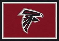 Atlanta Falcons 6' x 8' NFL Team Spirit Area Rug
