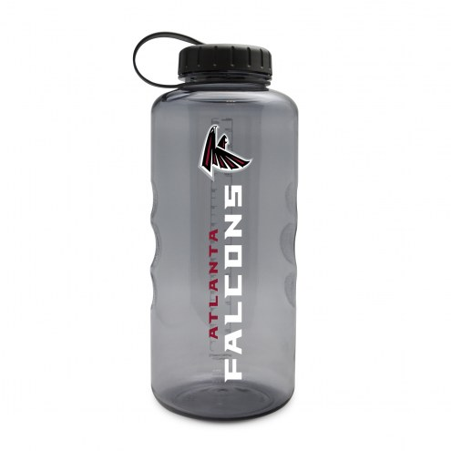 Atlanta Falcons 60 oz. Clear Plastic Water Bottle