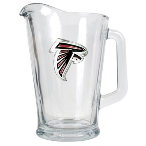 Atlanta Falcons 60 Oz. Glass Pitcher - Primary Logo