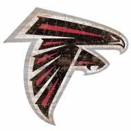"Atlanta Falcons 8"" Team Logo Cutout Sign"