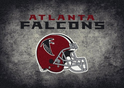Atlanta Falcons 8' x 11' NFL Distressed Area Rug