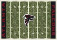 Atlanta Falcons 8' x 11' NFL Home Field Area Rug