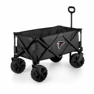 Atlanta Falcons Adventure Wagon with All-Terrain Wheels