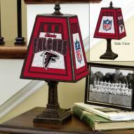 Atlanta Falcons Art Glass Table Lamp