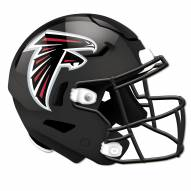 Atlanta Falcons Authentic Helmet Cutout Sign
