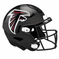 Atlanta Falcons Authentic Helmet Cutout Sign