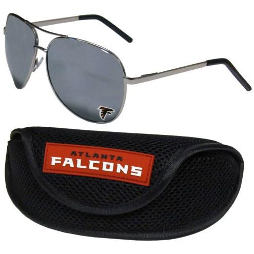 Atlanta Falcons Aviator Sunglasses and Sports Case