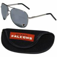 Atlanta Falcons Aviator Sunglasses and Sports Case
