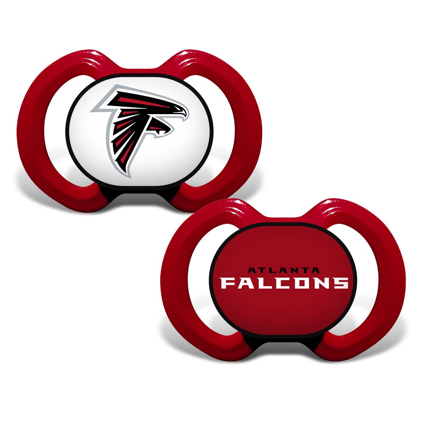 innovative design 6c238 6990f Atlanta Falcons Baby Pacifier 2-Pack