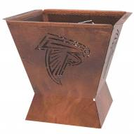 "Atlanta Falcons Badlands 29.5"" Square Fire Pit"