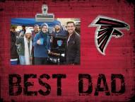 Atlanta Falcons Best Dad Clip Frame
