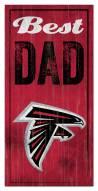 Atlanta Falcons Best Dad Sign