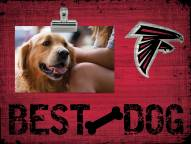 Atlanta Falcons Best Dog Clip Frame