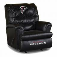 Atlanta Falcons Big Daddy Leather Recliner